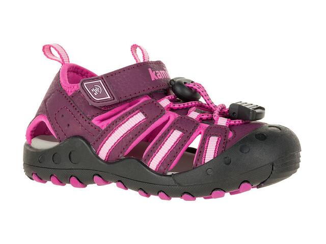 Kamik Toddlers Crab Shoes Plum-Prune